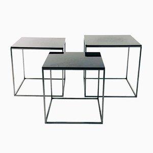 Tavolini a incastro PK71 di Poul Kjaerholm per Fritz Hansen, anni '50