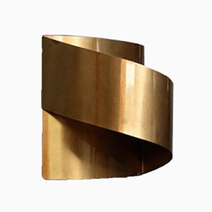 Swedish Brass Band Wall Lamp by Peter Celsing for Falkenbergs Belysning, 1960s