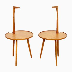 Cicognino Model TN6 Coffee Tables by Franco Albini for Poggi, 1970s, Set of 2
