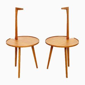 Tavolini da caffè Cicognino di Franco Albini per Poggi, anni '70, set di 2