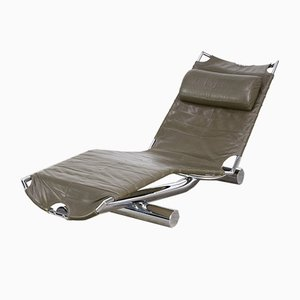 Swiss Chaise Lounge by Paul Tuttle for Strässle, 1970s