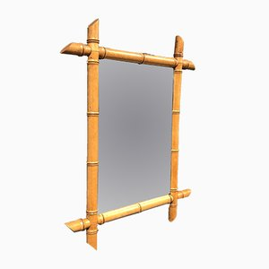 Faux Bamboo Mirror, 1900s