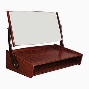 Wall Mounted Rosewood Vanity Unit by Svend Åge Madsen for NB Mobler, 1960s