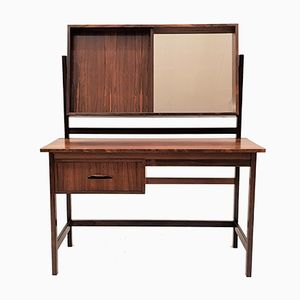 Mid-Century Modern Brazilian Rosewood Dressing Table, 1960s