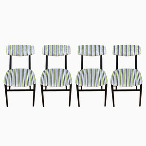 Chaises de Salon, Italie, 1960s, Set de 4