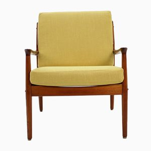 Teak Armchair by Arne Vodder for Glostrup, 1960s