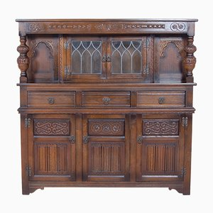 Vintage English Old Charm Sideboard from Wood Bros