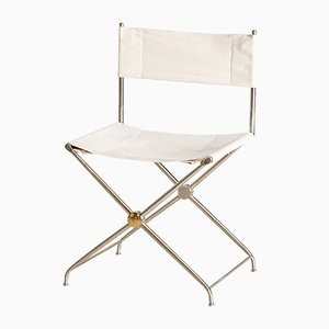 Vintage Folding Director Chair, 1980s