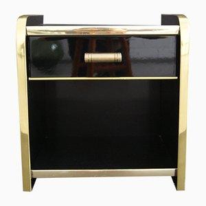 Vintage French Glossy Dresser, 1940s