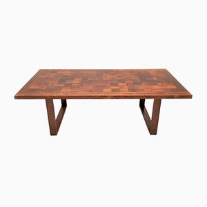 Rosewood Chess Board Coffee Table by Poul Cadovius for France & Søn, 1968