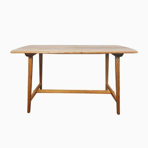 Vintage CC 41 Plank Dining Table by Lucian Ercolani for Ercol