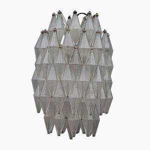 Italienische Vintage Deckenlampe von Venini, 1960er
