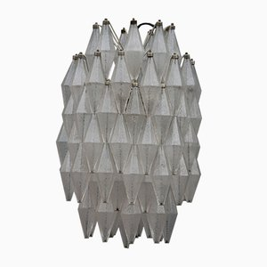 Lámpara de techo italiana vintage de Venini, años 60