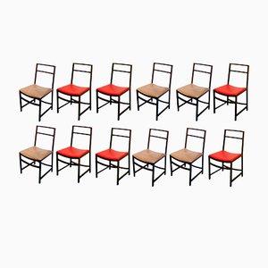 Esszimmerstühle aus Palisander von Renato Venturi für MIM, 1960er, 12er Set