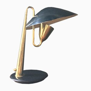 Italian Brass Table Lamp, 1950s