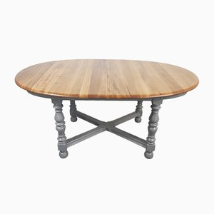 Round Painted Extending Dining Table by Lucian Ercolani for Ercol, 1980s