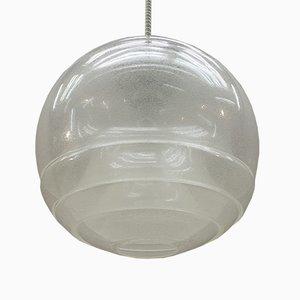 Lampada da soffitto di Carlo Nason per Mazzega, anni '60
