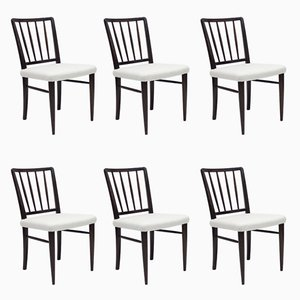 Model O.K. Dining Chairs by Axel Einar Hjorth for Nordiska Kompaniet, 1936, Set of 6