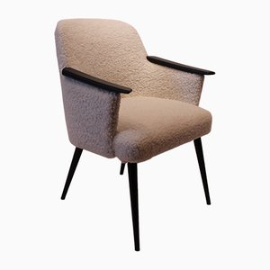 Vintage Danish Wool Easy Chair, 1960s