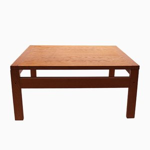 Tavolino basso in quercia di France & Son, anni '60