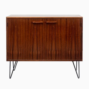Rosewood Dresser on Hairpin Legs, 1960s
