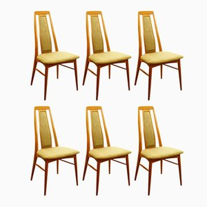 Eva Chairs from Niels Koefoed, 1964, Set of 6
