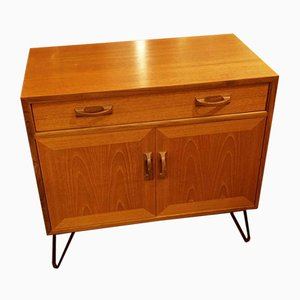 Teak Sideboard on Hairpin Legs from G-Plan, 1970s