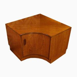 Mueble esquinero vintage de teca de G-Plan, años 60