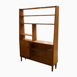 Teak Shelving Unit or Room Divider, 1960s