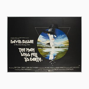 The Man Who Fell To Earth Film Poster by Vic Fair, 1976