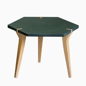Table Basse Tabuli Verte par Vincenzo Castellana pour DESINE, 2018
