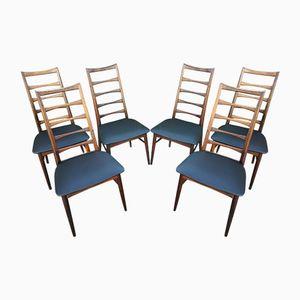 Skandinavische Vintage Modell Liz Stühle von Niels Koefoed, 6er Set