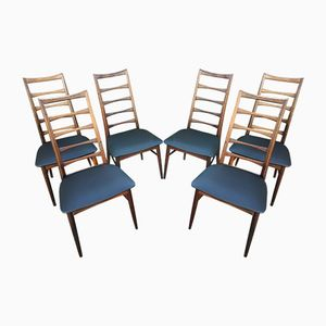 Vintage Scandinavian Model Liz Chairs by Niels Koefoed, Set of 6