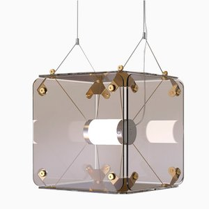 Hyperqube Ceiling Lamp by Felix Monza