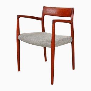 Modell 77 Esszimmerstühle aus Teak von Niels O. Møller für JL Møllers, 1960er, 10er Set