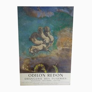 The Chariot of Apollo Poster by Odilon Redon, 1955