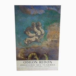 The Chariot of Apollo Poster von Odilon Redon, 1955