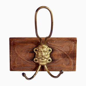 Art Nouveau Coat Hook, 1940s