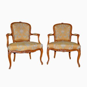 Antike Sessel im Louis XV-Stil, 2er Set