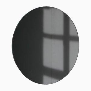 Kleiner runder schwarz getönter Orbis Spiegel von Alguacil & Perkoff Ltd