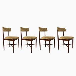 Mid-Century Fresco Dining Chairs from G-Plan, Set of 4