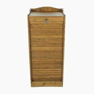 Mueble con cierre de persiana, años 20