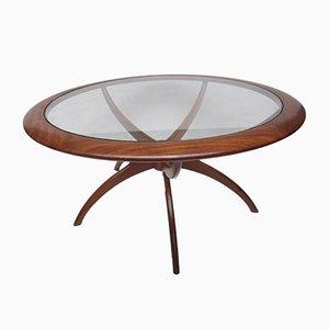 Table Basse Araignée en Teck par Victor Wilkins pour G-Plan, 1960s