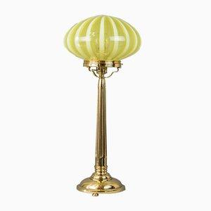 Große Wiener Jugendstil Tischlampe, 1910er