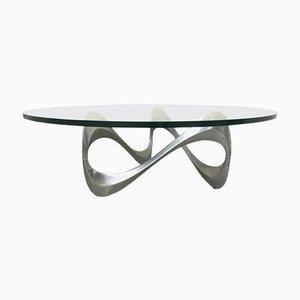 Table Basse Snake Vintage par Knut Hesterberg, 1969