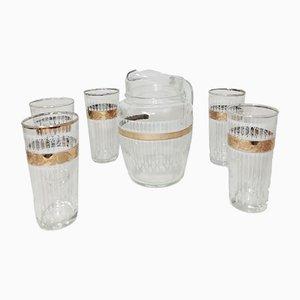 Vintage Krug & Gläser Set
