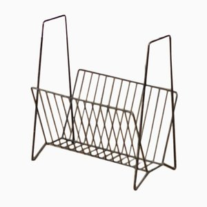 Dutch Wire Magazine Rack, 1970s