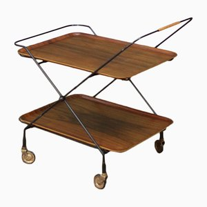 Mid-Century Swedish Drinks Trolley from Jie Gantofta