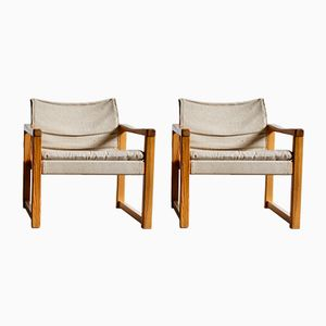 Vintage Diana Safari Chairs by Karin Mobring for Ikea, Set of 2