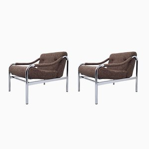 Beta Armchairs by Tim Bates for Pieff, 1970s, Set of 2